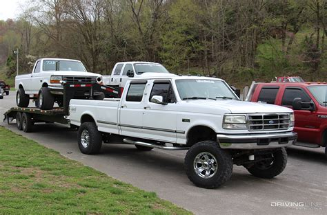 ford diesel 5 power stroke sleepers 5 stock appearing fords that pack