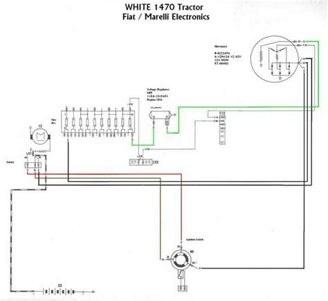 charging system white tractor diagram attached cattletoday com