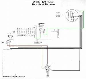 White Tractor Wiring Diagram