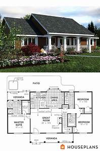 Affordable, Ranch, House, Plans, 2021