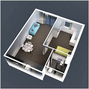 10 ideas for one bedroom apartment floor plans With 1bed room 3d home plan