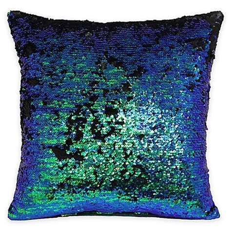 bed bath and beyond sofa pillows mermaid sequin throw pillow bed bath beyond
