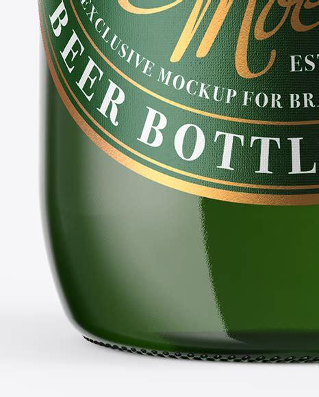 Discover 15 beer bottle mockup designs on dribbble. Green Glass Lager Beer Bottle Mockup - Green Glass Bottle ...