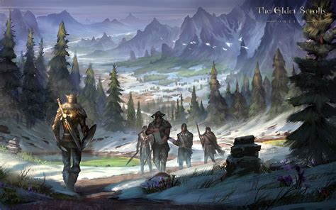 The Elder Scrolls Online Wallpaper Concept Art Concept