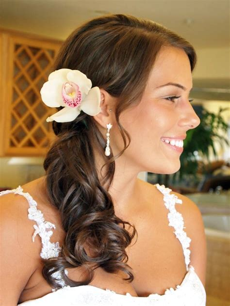 25 ideas about side curly hairstyles on