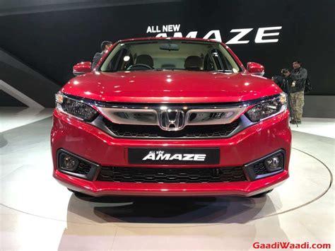 honda amaze launched  india price specs
