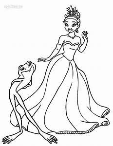 Princess Tiana Coloring Pages - GetColoringPages.com