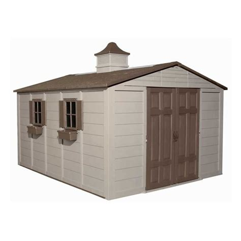 Suncast Glidetop Storage Shed by Suncast 10 Ft X 12 1 2 Ft Gable Storage Shed Lowe S Canada