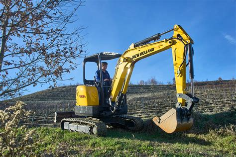 holland compact excavators  series ec