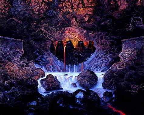 For khemmis doom metal denver colorado on behance graphic design illustration artwork illustration design. death, Metal, Heavy, Dark, Evil, Horror, Poster Wallpapers ...