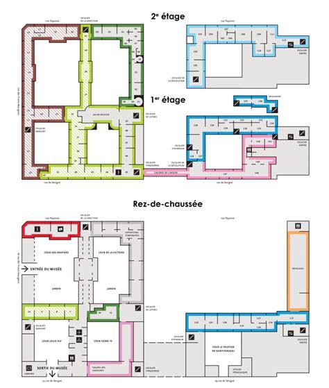 hotel chambre ile de plan du musée musée carnavalet histoire de la ville de