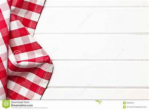 Checkered napkin stock image Image of pattern, white