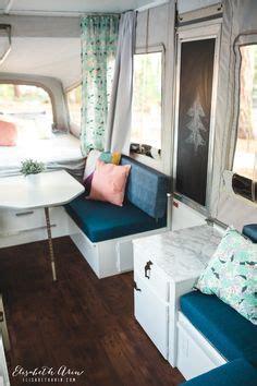 tracys pop  camper makeover pop  camper remodeled campers camper makeover camper