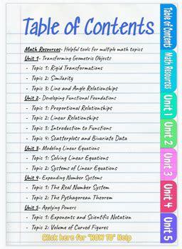 digital interactive math notebook template   sherman