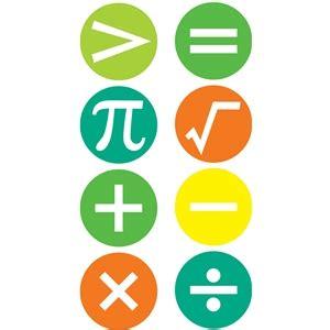 silhouette design store view design  math symbols set