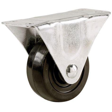 everbilt    soft rubber wheel rigid caster