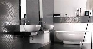 des carrelages de salle de bains ultra originaux travauxcom With quel carrelage pour salle de bain