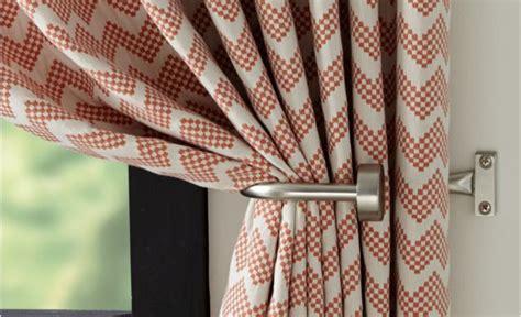 Set Of 2 Matte Nickel Curtain Tie Backs