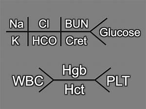 Shorthand Fishbone Laboratory Diagrams