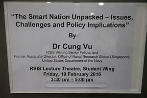 RSIS Seminar by Dr Cung Vu, RSIS Visiting Senior Fellow ...