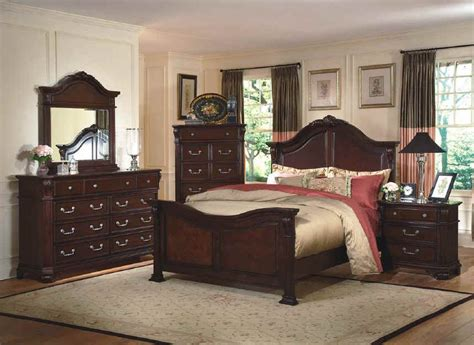 classic emilie bedroom set  english tudor