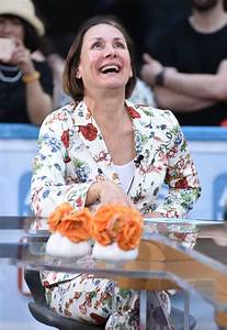LAURIE METCALF on the Set of Access Hollywood in New York ...