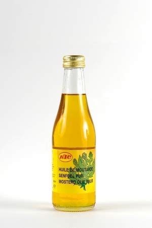 huile de moutarde bahadourian huile de moutarde bouteille en verre 25cl ktc les