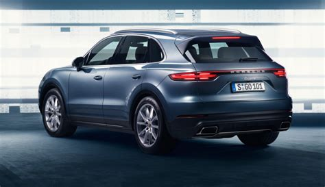 Porsche Cayenne Picture by 2018 Porsche Cayenne Revealed In Leaked Pictures Photos