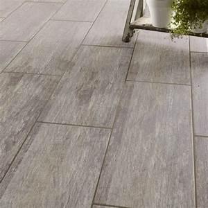 Carrelage Clipsable Leroy Merlin : carrelage sol et mur gris effet bois cuba x cm leroy merlin ~ Carolinahurricanesstore.com Idées de Décoration