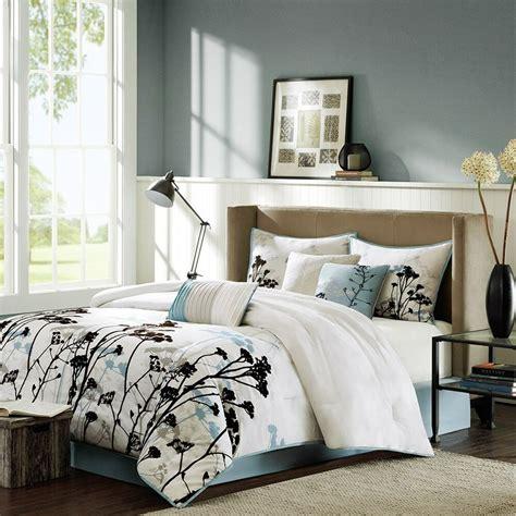 Park Duvet - park matilda pale blue floral 7 comforter