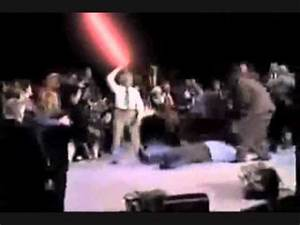 benny hinn sith lord improved sound youtube With benny hinn bodies hit the floor