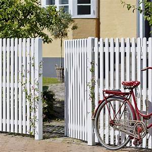 Gartenzaun Weiß Holz : gartenzaun holz stockholm wei 150cm ~ Michelbontemps.com Haus und Dekorationen