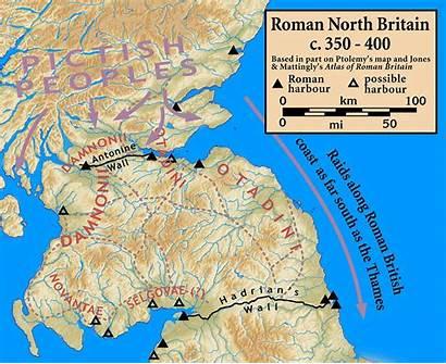 Britain Roman Ad 400 Conspiracy Wikipedia Scotland