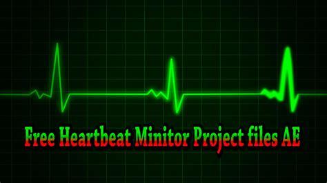 FREE! Heartbeat Monitor - YouTube
