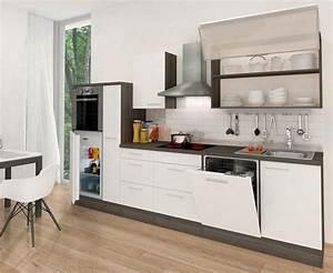 Küchenzeile 310 Cm Mit Elektrogeräten : k chenzeile mit e ger ten premium breite 310 cm otto ~ Bigdaddyawards.com Haus und Dekorationen