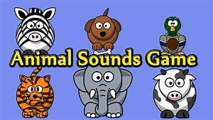 Interactive Animal Sounds Game by Kids Learning Video ...