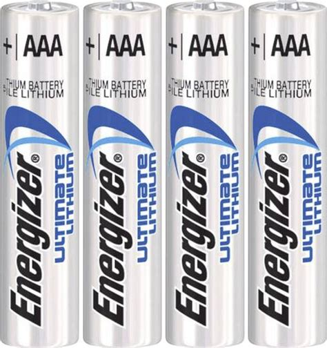 Micro (AAA)Batterie Lithium Energizer Ultimate LR03 1250