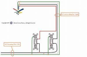 Ceiling fan light switch wiring : Ceiling fan wiring