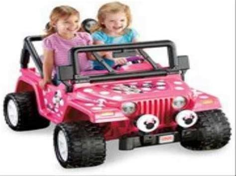 jeep power wheels for girls fisher price power wheels girls 39 disney minnie mouse jeep