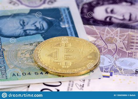 The price of bitcoin in usd is reported by coindesk. Bitcoin Coin United Kingdom Pound Sterling Banknotes Editorial Photo - Image of exchange ...