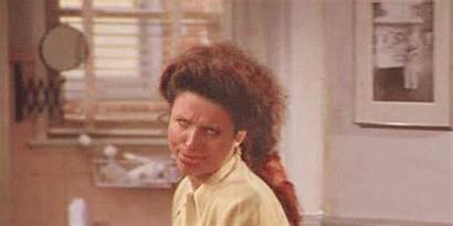 Elaine Louis Seinfeld Julia Benes Really Reaction