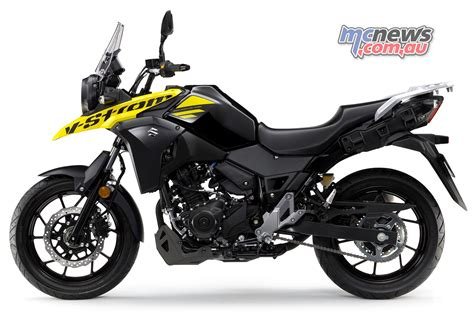suzuki dl  strom arrives   ride  mcnewscomau