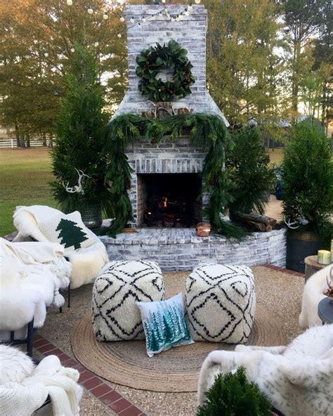outdoor fireplace patio ideas  pinterest