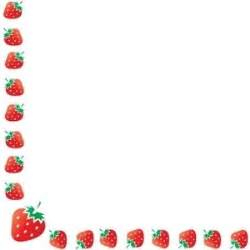 push back earrings strawberry clipart image strawberry border polyvore