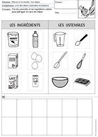 ustensile de cuisine anglais la chandeleur en maternelle la classe des gnomes