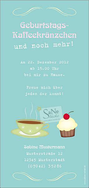 einladungskarte geburtstag kaffee und kuchen kaffee und