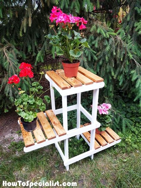 diy plant stands  thrift store finds hative