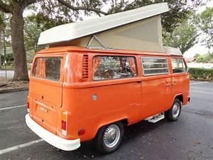 1975 Volkswagen Westfalia Camper Bus For Sale