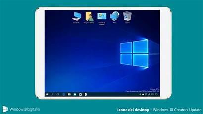 Windows Desktop Icone Creators Update Icona Pannello