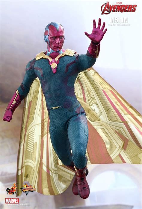 are you worthy of hot toys 39 vision of the avengers age